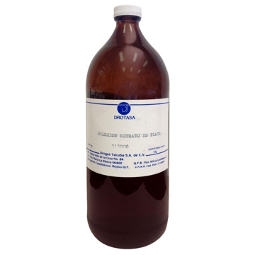 Imagen de Solucion nitrato de plata Drotasa Botella de 1 L