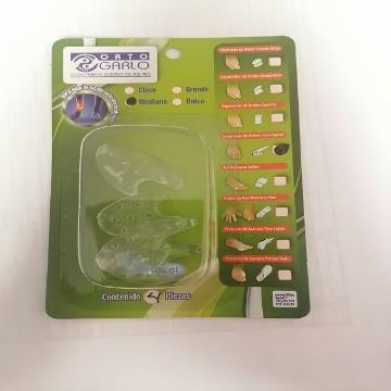 Imagen de Separador de Dedos Interdigital Orto Garlo Mediana paquete de 4 piezas