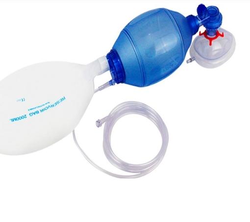 Resucitador Mascarilla y Reservorio Desechable Respifix Pediatrico