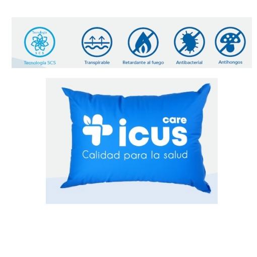 Almohada Antibacterial Azul Marino